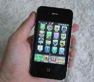 高仿苹果4代双卡双待机图片