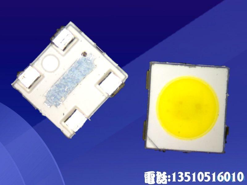 供应3535贴片大功率白光1W高品质低衰减3535灯珠3535贴片高亮度低衰减深圳led灯珠封装工厂