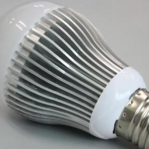 LED球泡灯7W黑色图片