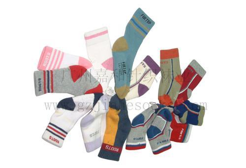 毛圈童袜销售