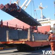 钢材大件设备货物散装船海运散杂船图片