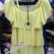 韩版短袖小衫批发兰州便宜雪纺上衣图片