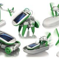 太阳能DIY六合一玩具