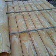 松木面皮杨木面皮单板皮子图片
