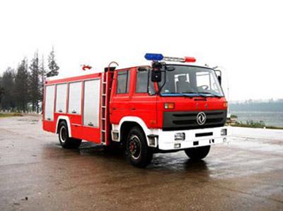 供应东风1455吨水罐消防车图片