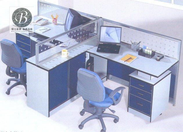 供应办公家具屏风办公桌2035,定做屏风式办公桌款式,办公屏风