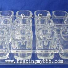 供应KTV酒吧夜总会娱乐场所专用的四方酒杯圆形杯及杯架