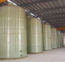 供应玻璃钢储酸罐 河北华强储运设备 玻璃钢工业园区图片