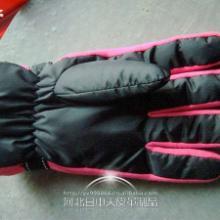 供应男士绣花运动新款加厚保暖滑雪手套批发批发