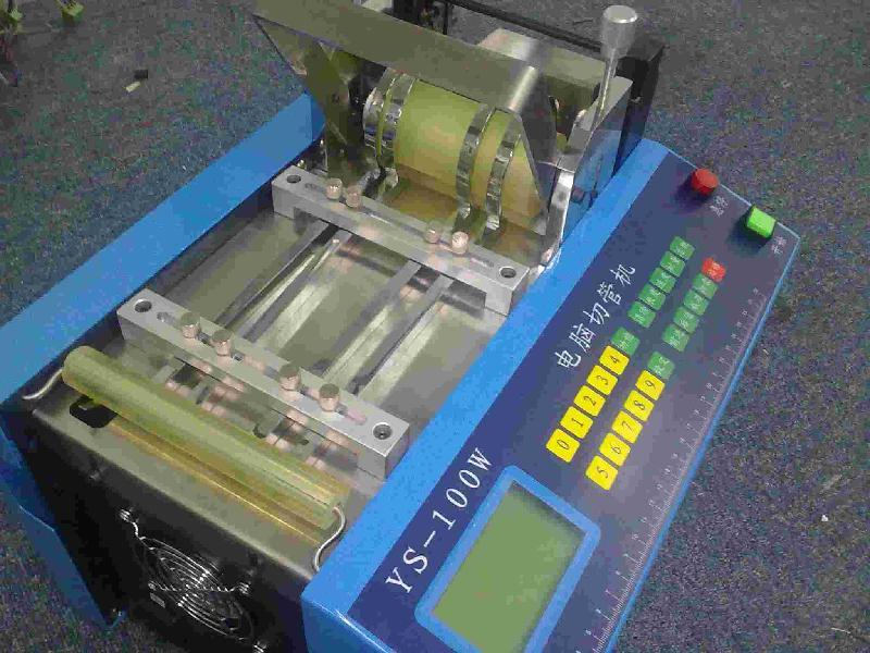 惠州饮水机PE管切管机/编码管切管机/皮革麻簧带裁切机