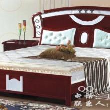 供应实木床实木成人床实木儿童床复古双人大床带床头柜通海家具厂直销批发