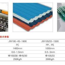 供应PP/PC/PVC波浪板挤出设备图片