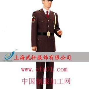 上海保安服套装图片