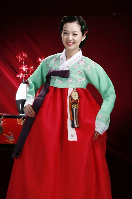 供应韩国民族传统韩服图片