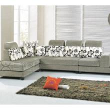 供应订做布艺组合沙发,现代田园客厅转角布艺沙发,三人双人单人沙发