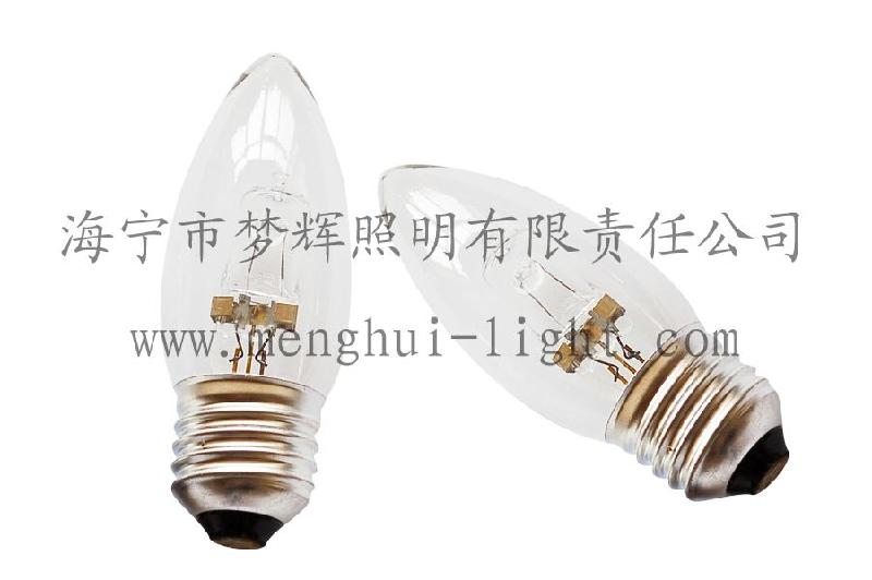 供应C35节能卤素灯E27透明220V 42W 灯泡