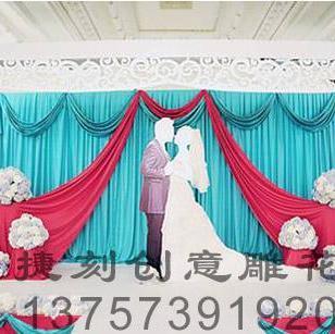 J51婚庆雕花/婚庆道具/镂空板/雕花图片