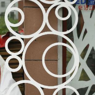 J72雕花板/PVC镂空板/背景墙隔断图片