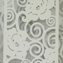 供应J80雕花板/镂空板/隔断背景墙/烤漆