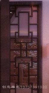 6F雕花板/镂空板/背景墙隔断屏风图片