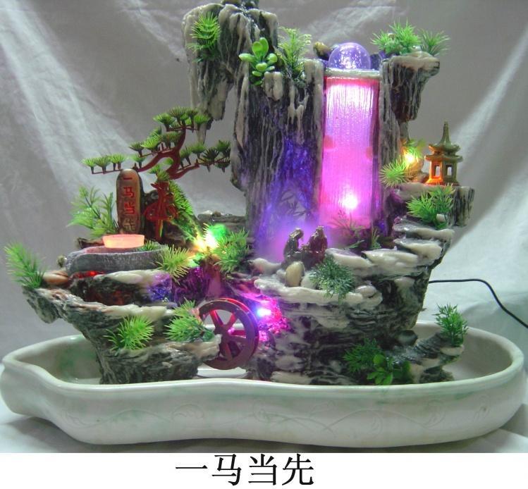 模擬流水假山|盆景|噴泉|流水工藝品|廣州市白雲區石 …圖