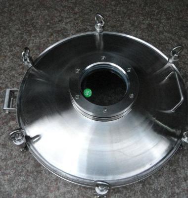 不锈钢常压人孔图片/不锈钢常压人孔样板图 (3)