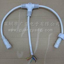 供应IP68防水连接器防水插头、LED防水线、DC透明防水插