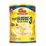 明一金智婴幼儿配方奶粉3段图片