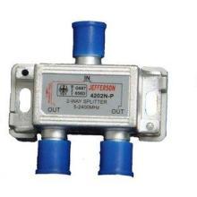 杰士美/杰和兴/卫星功分器/二分配器4202N-P或4202N-批发