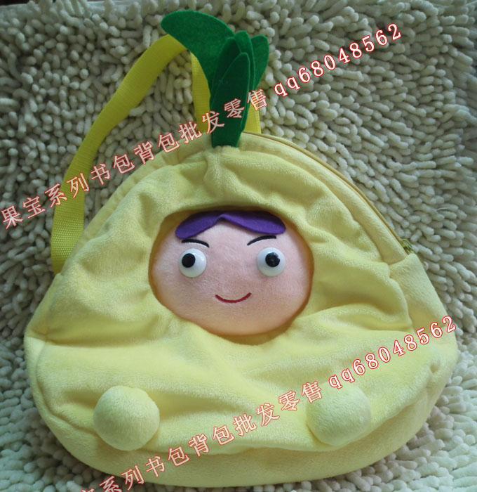 供应果宝特攻系列儿童书包菠萝吹雪图片