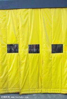 供应杭州市软门帘棉门帘纱窗销售图片