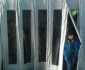 供应杭州棉门帘子图片