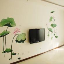 供应南昌卧室背景墙手绘彩绘!图片