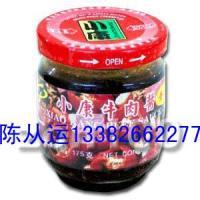 徐州小康175克牛肉酱用的玻璃瓶