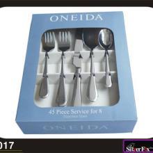 供应纸盒礼品餐具 不锈钢餐具礼品 餐具礼品刀叉
