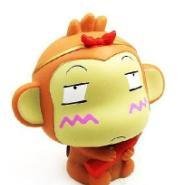 小猴卡通礼品钱罐图片