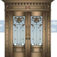 鹤壁铜门 别墅铜门 玻璃铜门 纯铜门 厂家定做 送货上门批发