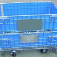 青岛钢托盘/金属料箱图片