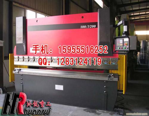 供应【环锐机床】100T/3200液压板料折弯机