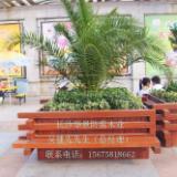 大量供应广西防腐木广西最便宜的防腐木长沙华景防腐木业园林景观