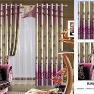 单面条纹印花遮光布厂家供应图片