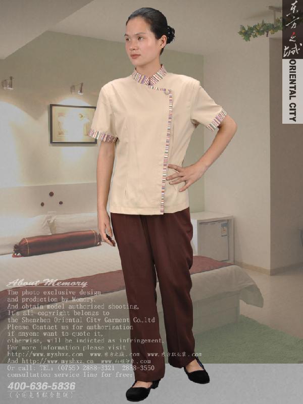 酒店客房女服务员套装图片|酒店客房女服务员套装-我玩过的酒店女服