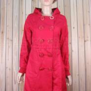 韩版女装修身中长款棉袄2011秋图片