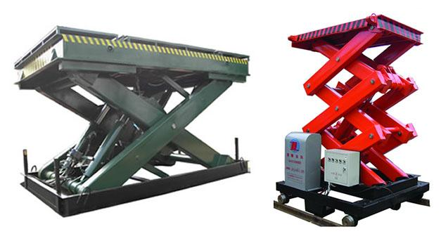 供应济南壑奇升降机械固定液压升降机图片图片