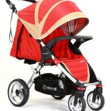 供应珠海童车品牌单手收车折叠动感四轮婴儿推车SH908A