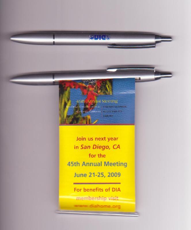 供应济源市广告笔定做 广告拉画笔 促销礼品笔