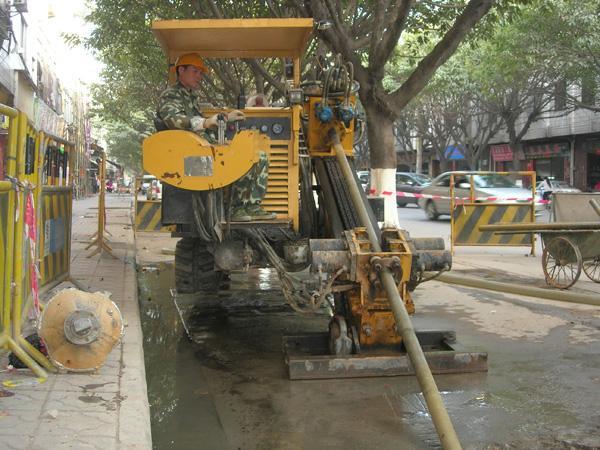 邹城市非开挖顶管拉管工程队电话价格及图片、图库、图片大全
