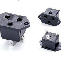 厂家供应供应巴西专用巴西插座  巴西专用AC插座 AC母座 巴西母插座
