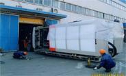 大型注塑机搬运公司图片
