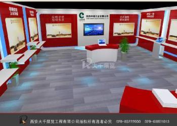 部队展厅设计装修大千展览工程图片